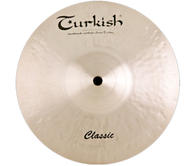 "Turkish Cymbals Classic 13"" Orchestra Band"