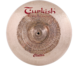 "Turkish Cymbals Clatter 14"" Crash"