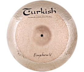 "Turkish Cymbals Euphonic 18"" Crash"