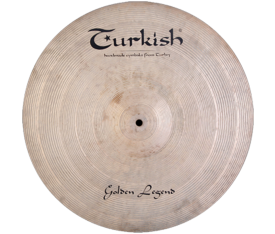 "Turkish Cymbals Golden Legend 16"" Crash"