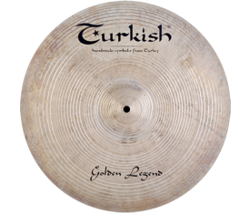 "Turkish Cymbals Golden Legend 24"" Ride"