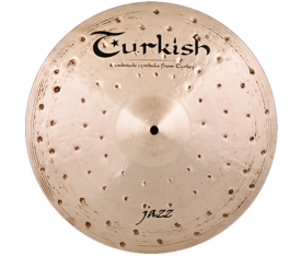"Turkish Cymbals Jazz 18"" Crash"