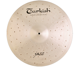 "Turkish Cymbals Jazz 22"" Ride"