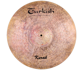 "Turkish Cymbals Kurak 10"" Splash"