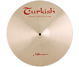 "Turkish Cymbals Millennium 19"" Crash Ride"
