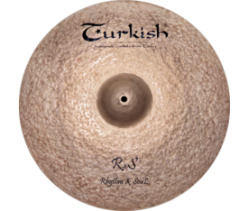 "Turkish Cymbals Rs 18"" Crash"