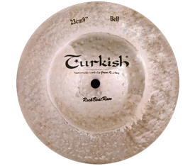 "Turkish Cymbals Rockbeat Raw 8"" Big Bell"