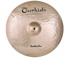 "Turkish Cymbals Rock B. Raw 10"" Splash"