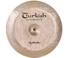 "Turkish Cymbals Rock B. Raw 18"" Swish"