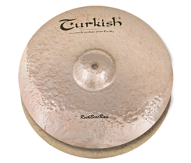 "Turkish Cymbals Rock B. Raw 15"" Hihat"