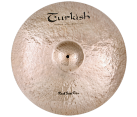 "Turkish Cymbals Rock B.Raw 21"" Ride"