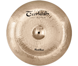 "Turkish Cymbals Rock Beat 20"" China"