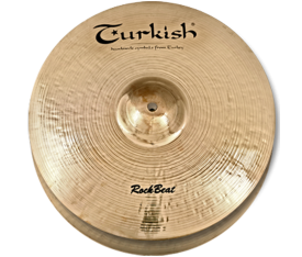 "Turkish Cymbals Rock Beat 14"" Hihat Heavy"