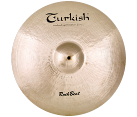 "Turkish Cymbals Rock Beat 22"" Ride Heavy"