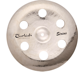 "Turkish Cymbals Sirius 16"" China Holey"
