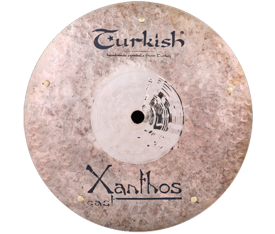 "Turkish Cymbals Xanthos-Cast 9"" Flat Bell Sizzle"