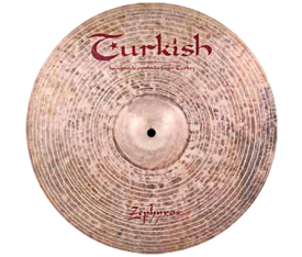 "Turkish Cymbals Zephyros 17"" Crash"