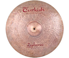 "Turkish Cymbals Zephyros 24"" Ride"