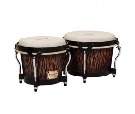 "Tycoon 7"" 8½"" Supremo Select Series Bongos - Chiseled Orange Finish"