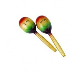Tycoon Multi-Color Wooden Maracas