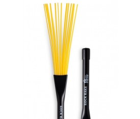 Vic Firth BRR Rock Rake Yellow Plastic Fırça Baget