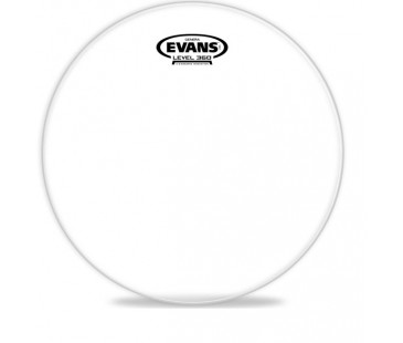 "Evans Deri 14"" Genera Resonant Tom Alt Clear Tek Kat (10 Mil)"