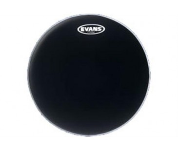 "Evans Deri 13"" Resonant Siyah Tom Alt Clear Tek Kat (7 Mil)"