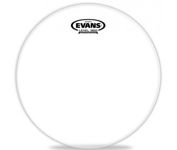 "Evans Deri 12"" Genera Resonant Tom Alt Clear Tek Kat (10 Mil)"