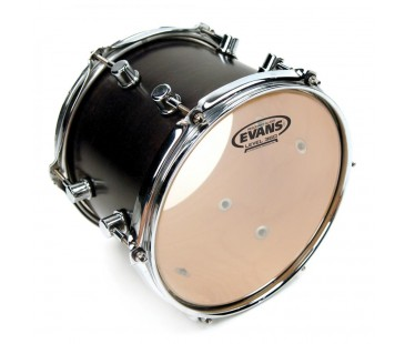 "Evans Deri 10"" Resonant Tom Alt Clear Tek Kat (7 Mil)"