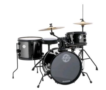 LUDWIG The Pocket Kit by Questlove Black Sparkle Bateri (LC178X016 )