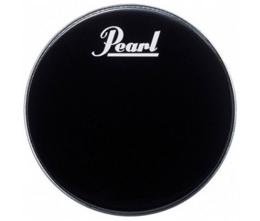 Pearl EB-22BDPL Drum Head with Logo Ebony