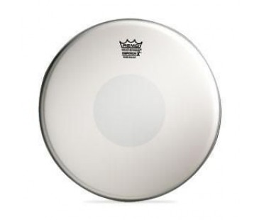"REMO BX-0114-10- 14"" Emperor X Coated Black Dot Tom Derisi"