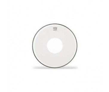 Remo CS-0316-00- Clear Controlled Sound White Dot 16' Deri