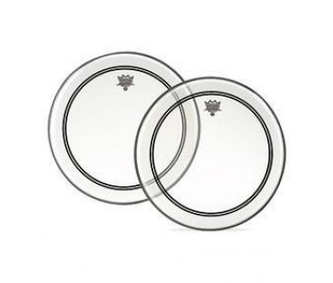 Remo P3-1324-C2- Bas Powerstroke 3 Clear 24 Diameter 2-1/2 Wh