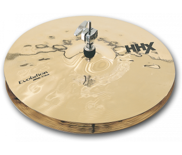 Sabian  14'' Evolution Hats HHX: 11402Xeb Hi-Hat