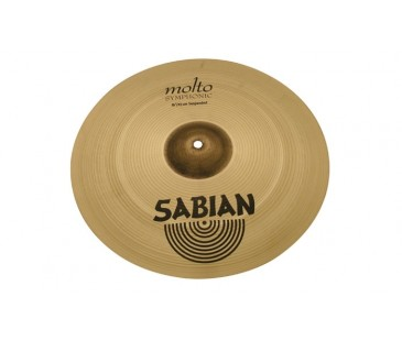 "Sabian 16"" AA Molto Symphonic Suspended Brilliant"