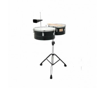 Tycoon Timbal TTI-1314-B Black Powder - Coated 13' & 14'