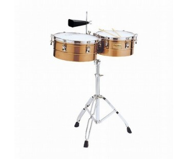 "Tycoon Timbal Ttı-1314-Ac  Antique Copper 13"" & 14"""