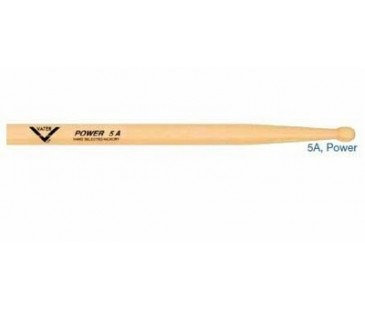Vater VHP5AW Hickory Power 5A Wood Baget (Çift)