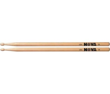Vic Firth 5B with NOVA imprint