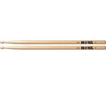 Vic Firth 2B with NOVA imprint