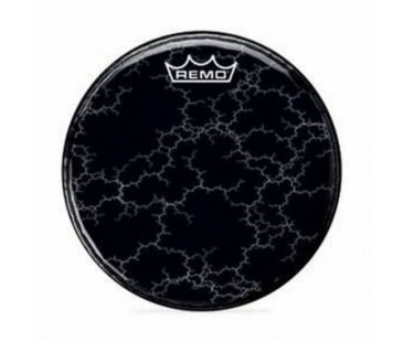 Remo Bass Graphic Standard 18 Diameter Chromeburst Black Graphic