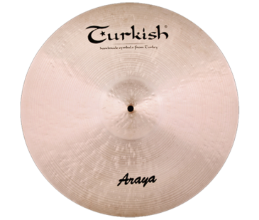 "Turkish Cymbals Araya 22"" Ride"