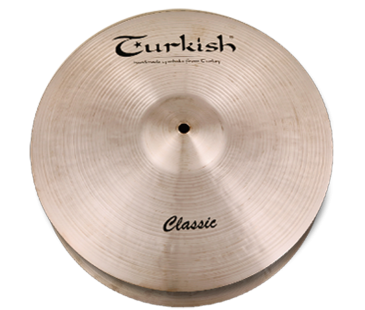 "Turkish Cymbals Classic 13"" Hihat Flat Hole"