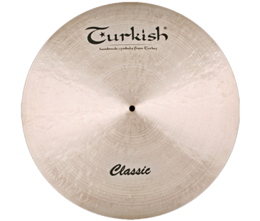 "Turkish Cymbals Classic 21"" Ride Custom Dry"