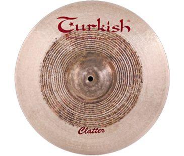 "Turkish Cymbals Clatter 15"" Crash"