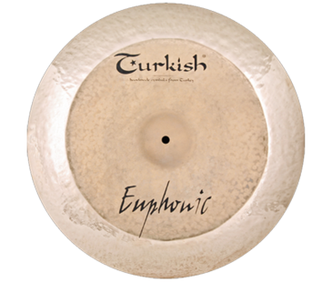 "Turkish Cymbals Euphonic 22"" China"