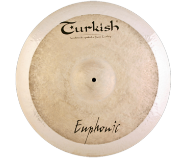 "Turkish Cymbals Euphonic 20"" Ride"