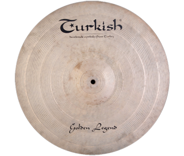 "Turkish Cymbals Golden Legend 17"" Crash"