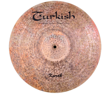 "Turkish Cymbals Kurak 22"" Ride"